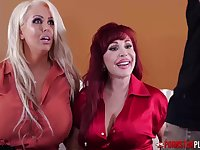 Alura Jenson and her ultra-kinky buddies determined to have a four-way until all of them spunk
