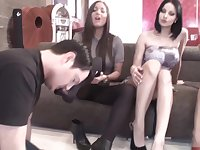 Foot Sniffing - Femdom Porn Collection