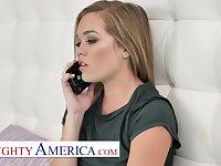 Naughty America - Katie Kush fucks her friend's big cock brother
