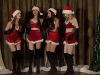 Christmas special for four needy sluts