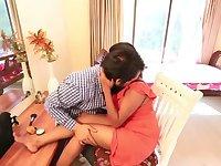 Desi Bhabhi ke Sath SEX HOT Sexy Aunty  Big Boobs Aunty