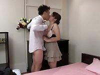 Horny Japanese slut in Incredible Mature JAV clip