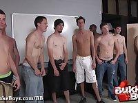Super Bareback Bukkake Gangbang - Bukkake Boys