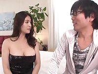 Best Japanese model Megu Fujiura in Hottest handjobs, big tits JAV scene