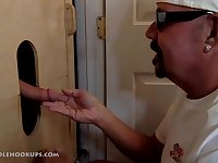 Man Returns For A Gloryhole Servicing