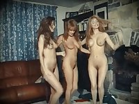 GIRLS NIGHT IN - vintage British dance strip fun