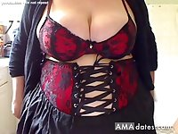 Big beautiful tits on a Sunday morning