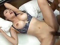 BBC fucks Japanese babe good