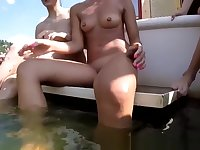 Dutch Teens Show Pussies