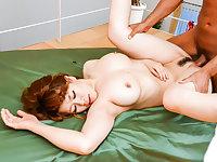 Suzuna Komiya removes undies to fuck a huge dick - More at javhd.net