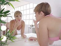 Venezuelan big tittied hoe Paola Guerra tries to cope with a thick hard cock
