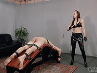 C-PUNISHMENTS - Lady Anette in Three brutal punishments II
