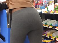 Slim Bubble in Grey Leggings (Checkout Line)