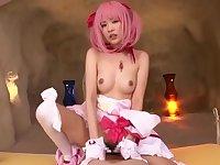 Heavenly oriental Uruha Mizuki in hot fingering porn video