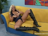 Busty blonde is smoking hot and she absolutely loves my cock!