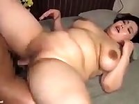 Asian BBW Pornstar Kelly Shibari In Her First Hardcore Scene