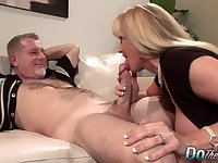 MILF Wife Olivia Parrish Fucks Old Man