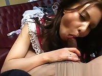 Japanese Bj in Pink Satin Panties