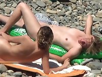 Amazing Naked Teens At Nudist Beach Spyied By Voyeur