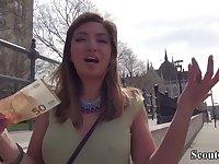 German Scout - Skinny Teenie Frida Sante sodomy get laid in Casting