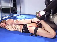 Hot Babe And Heavy-Breasted Secretary Tied And Punish - HQ