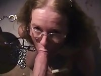 TRAINING A FRESHLY DIVORCED MOM HOW TO SUCK COCK