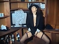 A MESSAGE TO YOU - vintage English hairy milf strip dance