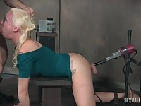 Submissive blonde Lorelei Lee loves BDSM more than anything else