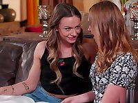 Naomi Swann is hotter than ever in this lesbian scene