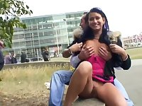 Nataly Lancaster Sex In Public