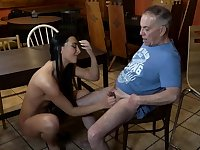 Old young slave and mistress feet first time Can you
