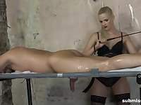 Dude enjoys having nice dick massage by provocative Katy Sky
