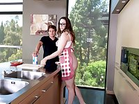 Young dick brings out the best in perky MILF Chanel Preston