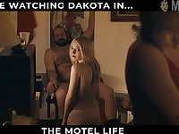 Nice and nude beauty named Dakota Fanning will draw your attention