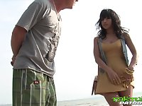 Lewd Thai girl Nuch is having sex fun with foreign stranger