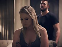 Lisey Sweet turned 18 and she seduces handsome married neighbor