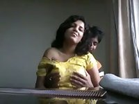 Just lewd amateur Indian couple has some great spooning