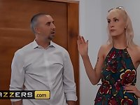 Slutty Babysitter Aidra Fox gets Fucked by Older Man